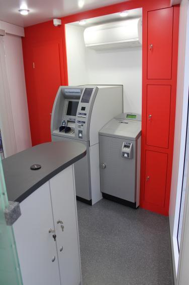 Mobile Bankfiliale mit KAD