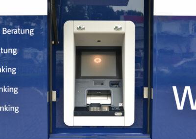 Bankmobil: LowLiner 6.3, Aufbauvariante Style